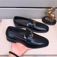 Salvatore Ferragamo SF Leather Shoes For Men #484298