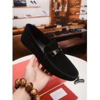 Salvatore Ferragamo SF Leather Shoes For Men #484304