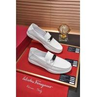 Salvatore Ferragamo SF Leather Shoes For Men #484307