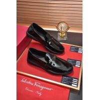Salvatore Ferragamo SF Leather Shoes For Men #484308