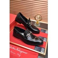Salvatore Ferragamo SF Leather Shoes For Men #484309
