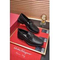 Salvatore Ferragamo SF Leather Shoes For Men #484313