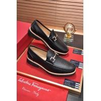 Salvatore Ferragamo SF Leather Shoes For Men #484316