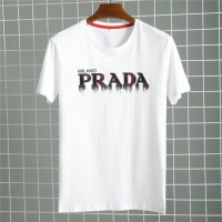 Prada T-Shirts Short Sleeved O-Neck For Men #485734