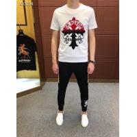 Chrome Hearts T-Shirts Short Sleeved O-Neck For Men #485769