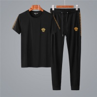 Versace Fashion Tracksuits Short Sleeved O-Neck For Men #485862