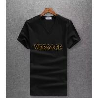 Versace T-Shirts Short Sleeved V-Neck For Men #485944