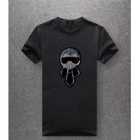 Fendi T-Shirts Short Sleeved O-Neck For Men #486014
