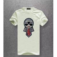Fendi T-Shirts Short Sleeved O-Neck For Men #486017