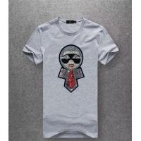 Fendi T-Shirts Short Sleeved O-Neck For Men #486019