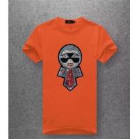 Fendi T-Shirts Short Sleeved O-Neck For Men #486022