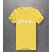 Christian Dior T-Shirts Short Sleeved O-Neck For Men #486087