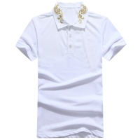 Versace T-Shirts Short Sleeved Polo For Men #486316
