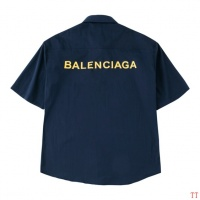 Balenciaga Shirts Short Sleeved Polo For Men #487650
