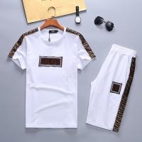 Fendi Tracksuits Short Sleeved O-Neck For Men #487765