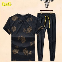 Dolce & Gabbana D&G Tracksuits Short Sleeved O-Neck For Men #487779