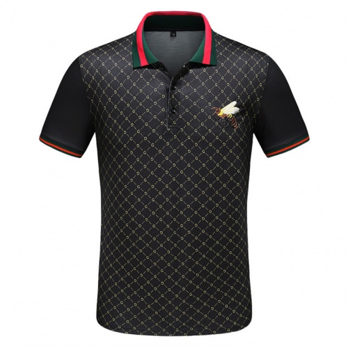Gucci T-Shirts Short Sleeved Polo For Men #489013