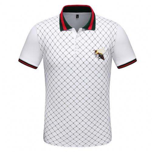 Gucci T-Shirts Short Sleeved Polo For Men #489014