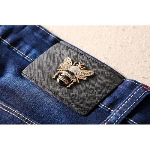 Cheap Dolce & Gabbana D&G Jeans Trousers For Men #496695 Replica Wholesale [$48.50 USD] [W#496695] on Replica Dolce & Gabbana D&G Jeans