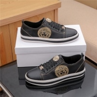 Cheap Versace Casual Shoes For Men #487925 Replica Wholesale [$72.75 USD] [W#487925] on Replica Versace Fashion Shoes