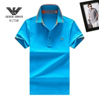Armani T-Shirts Short Sleeved Polo For Men #488116