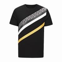 Fendi T-Shirts Short Sleeved O-Neck For Men #488237