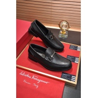 Salvatore Ferragamo SF Leather Shoes For Men #488476