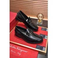 Salvatore Ferragamo SF Leather Shoes For Men #488477