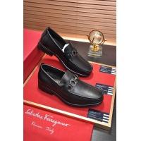 Salvatore Ferragamo SF Leather Shoes For Men #488478