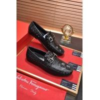 Salvatore Ferragamo SF Leather Shoes For Men #488486