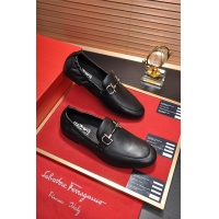 Salvatore Ferragamo SF Leather Shoes For Men #488487