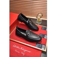Salvatore Ferragamo SF Leather Shoes For Men #488489