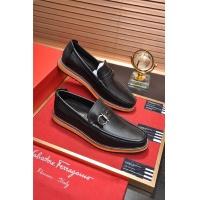 Salvatore Ferragamo SF Leather Shoes For Men #488491