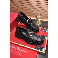 Salvatore Ferragamo SF Leather Shoes For Men #488494