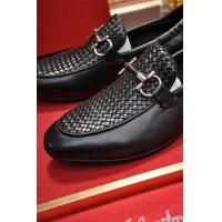 Cheap Salvatore Ferragamo SF Leather Shoes For Men #488497 Replica Wholesale [$85.36 USD] [W#488497] on Replica Ferragamo Leather Shoes