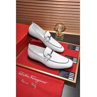 Salvatore Ferragamo SF Leather Shoes For Men #488498