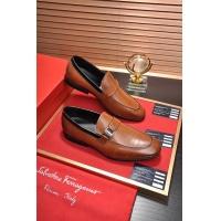 Salvatore Ferragamo SF Leather Shoes For Men #488500