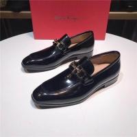 Salvatore Ferragamo SF Leather Shoes For Men #488523