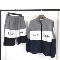 Balenciaga Tracksuits Long Sleeved Zipper For Men #489483
