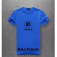 Balmain T-Shirts Short Sleeved O-Neck For Men #489528
