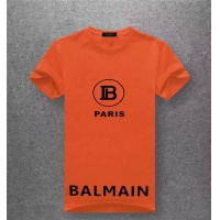 Balmain T-Shirts Short Sleeved O-Neck For Men #489530