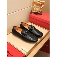 Salvatore Ferragamo SF Leather Shoes For Men #489657