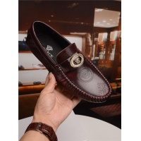 Versace Leather Shoes For Men #489823