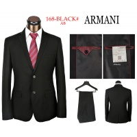 Armani Two-Piece Suits Long Sleeved Polo For Men #490121