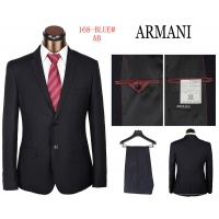 Armani Two-Piece Suits Long Sleeved Polo For Men #490122