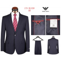 Armani Two-Piece Suits Long Sleeved Polo For Men #490129