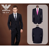 Armani Suits Long Sleeved Polo For Men #490144