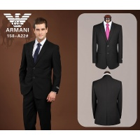 Armani Suits Long Sleeved Polo For Men #490146