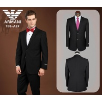 Armani Suits Long Sleeved Polo For Men #490148