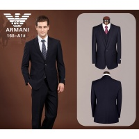 Armani Three-Piece Suits Long Sleeved Polo For Men #490150